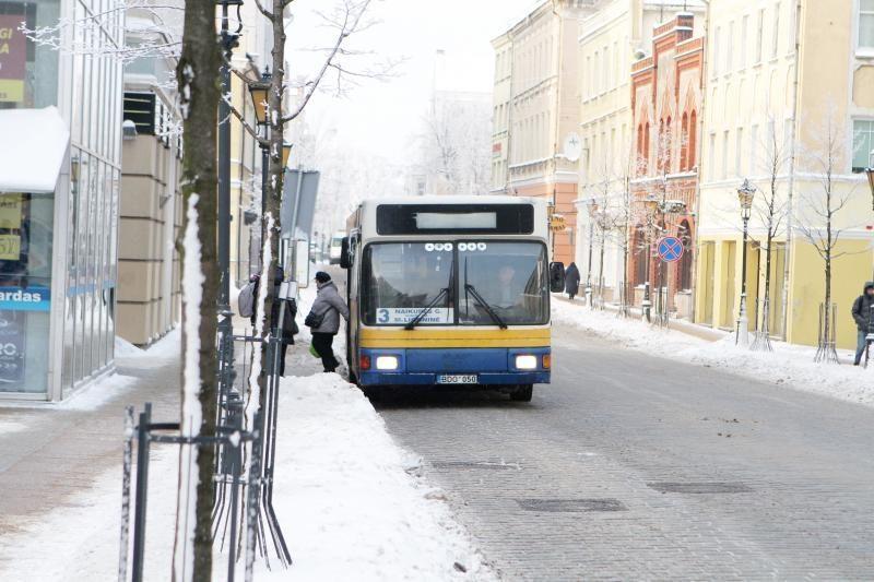 Lietuvoje daugėja dujomis varomų autobusų