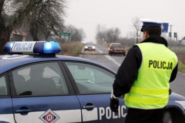 Lenkų policininkas skyrė baudą sau