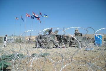 Afganistane apšaudyti Lietuvos kariai