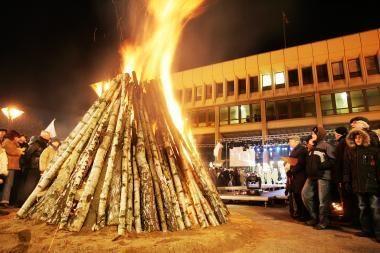 Vasario 16-oji Vilniuje: nuo oficialių ceremonijų iki laužų (programa)