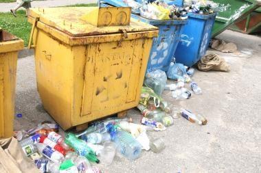 Vietoj atliekų tvarkymo tarifo – visuotinis mokestis
