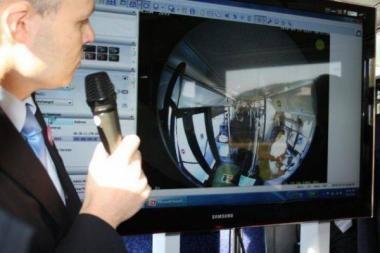 """Mobilusis 4G ryšys """"WiMAX"""" – viešojo transporto keleivių patogumui ir saugumui"""