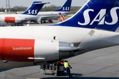 SAS skraidino daugiau keleivių