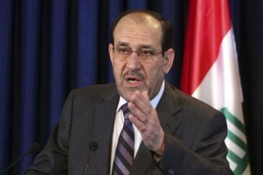 Irako premjeru antrai kadencijai paskirtas šiitas Maliki (papildyta)