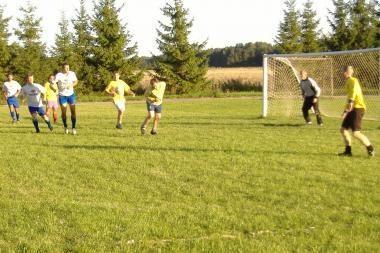 Futbolo varžybose policininkai sulaikė žaidėją