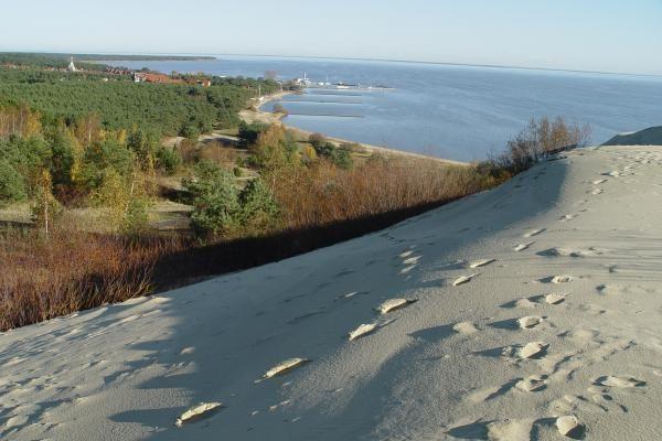 Kuršių nerijos vertės apraše - ir smėlio kopos, ir liaudies dainos