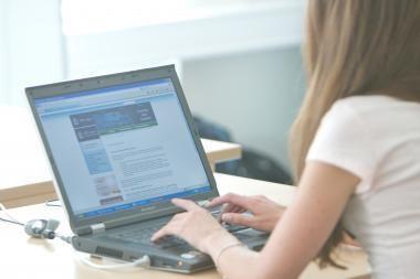 Internetu pirmąjį ketvirtį naudojosi 60 proc. lietuvių