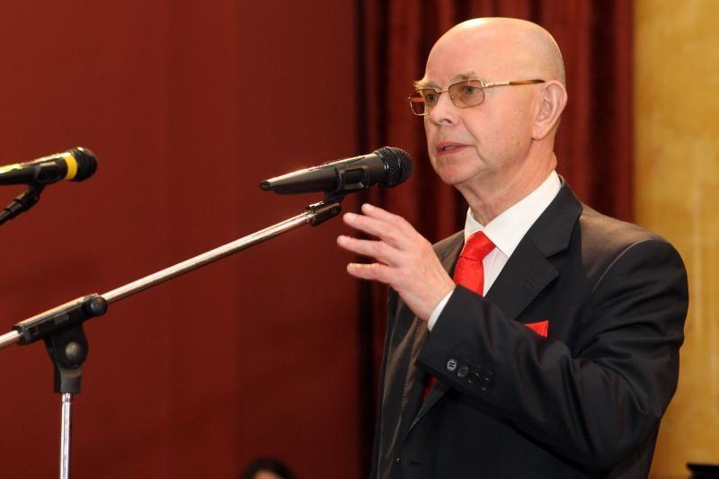 A. Vinkus apdovanotas ordinu už nuopelnus Lenkijos valstybei