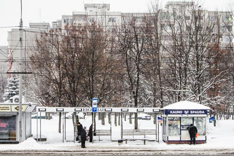 Kaune keisis viešojo transporto stotelių veidas