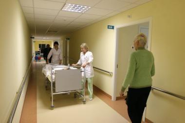 Po dukros smūgių mama pateko į ligoninę