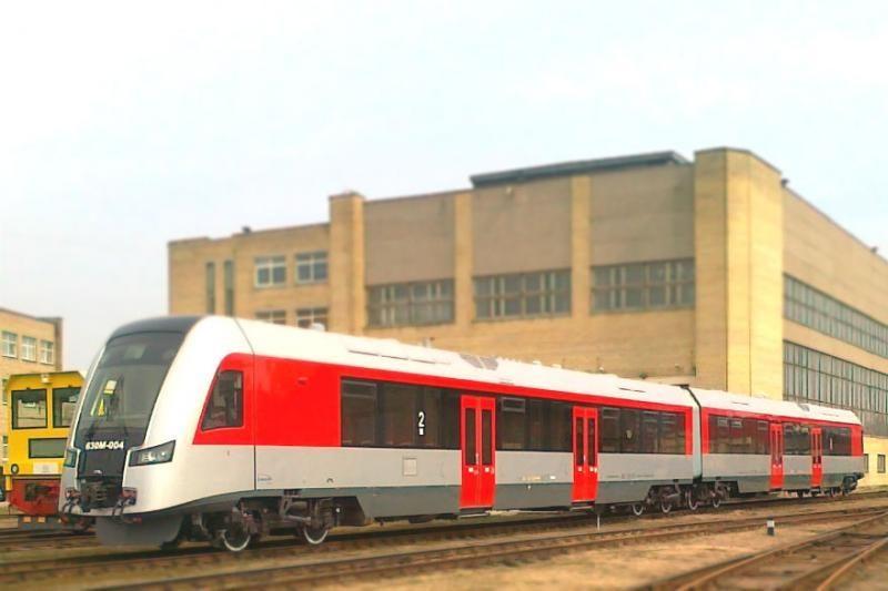 Naujas traukinys jau atkeliavo į Vilnių