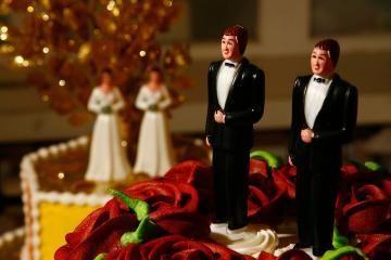 Londone susituokė du kunigai gėjai