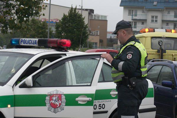 Policija persekios stikliuko mėgėjus