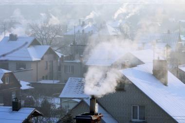 Orai Kaune: savaitgalį - tinkamiausias metas slidininkams