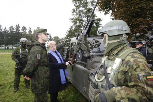 D.Grybauskaitė: Lietuva ir toliau rems Gruzijos euroatlantinės integracijos siekius