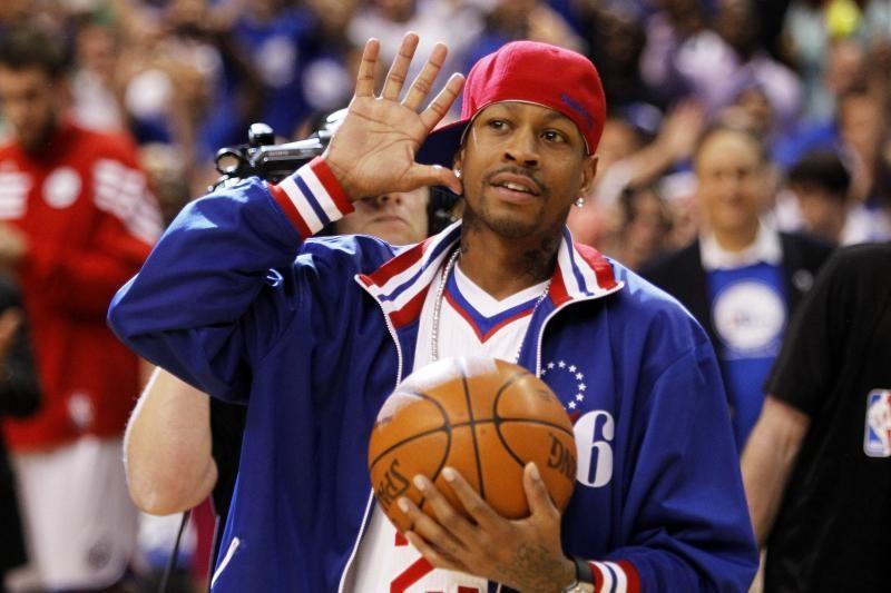10 faktų apie skandalingąją NBA žvaigždę A.Iversoną