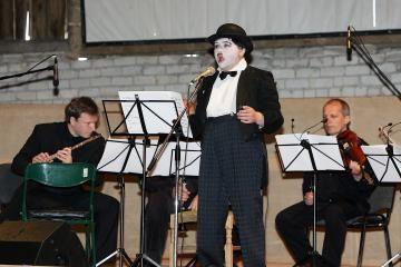 Žemaitkiemyje atgijo Ch.Chaplinas