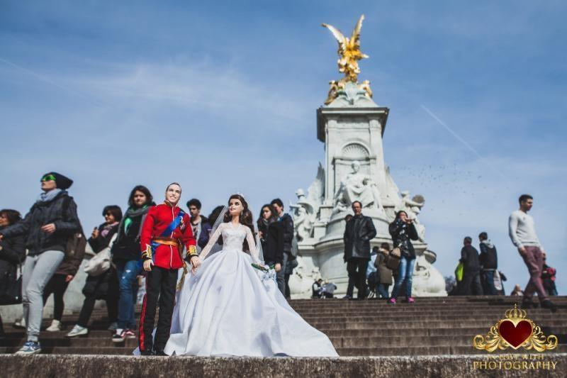 Karališkosios poros vestuvės – mini formatu (foto)