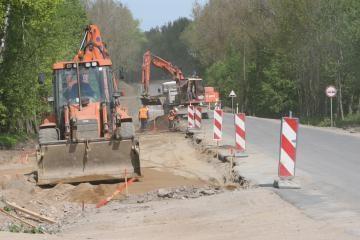 Bus rekonstruojami kelio Vilnius-Klaipėda ruožai ir viadukai