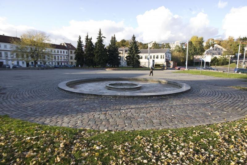 Paskelbtas konkursas Steigiamojo Seimo aikštei tvarkyti