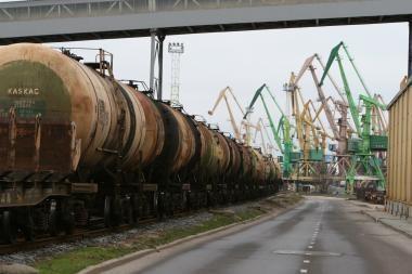 Baltarusiai krovą per Klaipėdos uostą didins iki 3,6 mln. tonų
