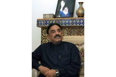 Pakistano prezidentu išrinktas A. Zardaris