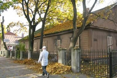 Namas-vaiduoklis - pačiame miesto centre