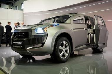 """""""Marussia"""" pristatė SUV F2"""