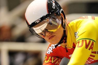S.Krupeckaitė - Europos dviračių treko čempionato ketvirtfinalyje