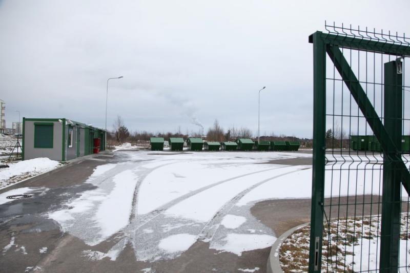 Vilniuje įrengtos keturios naujos stambių atliekų surinkimo aikštelės
