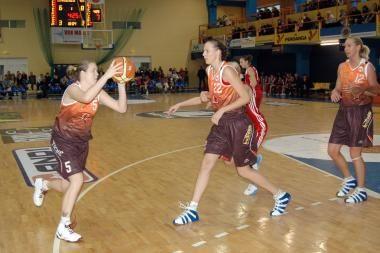 Moterų krepšinio lygoje - abiejų Kauno komandų pergalės
