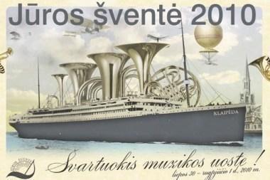 """""""Jūros šventė 2010"""": pristatyta papildyta programa"""