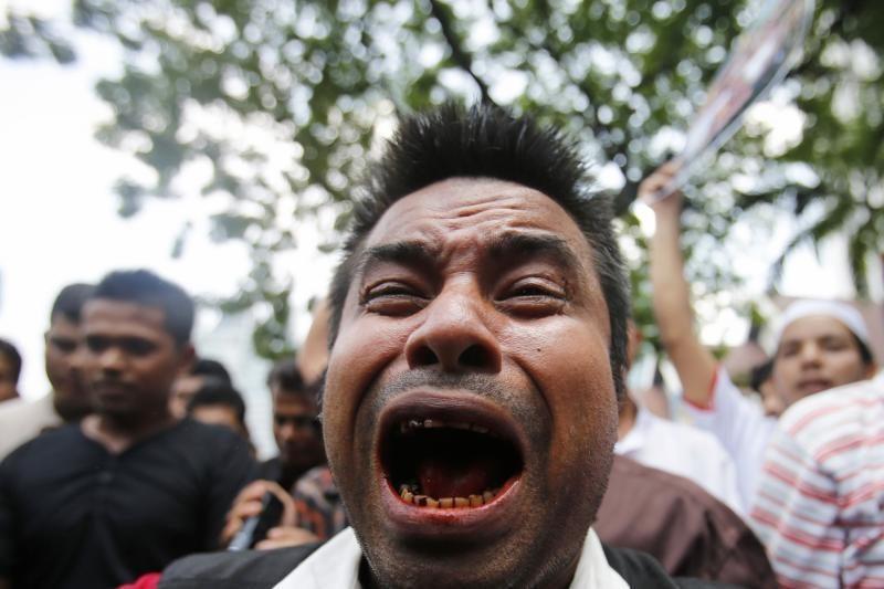 Per neramumus Mianmare žuvusių žmonių skaičius padidėjo iki 40