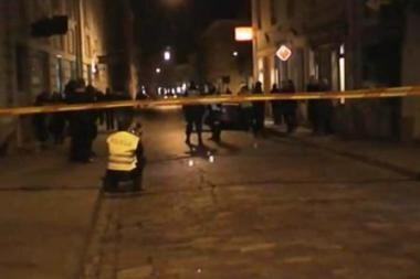 Šūviai Vilniaus senamiestyje buvo paleisti ne apsaugininko, o lombardo darbuotojo