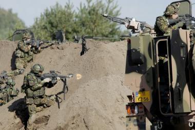 Afganistane per sprogdinimus žuvo trys NATO kariai