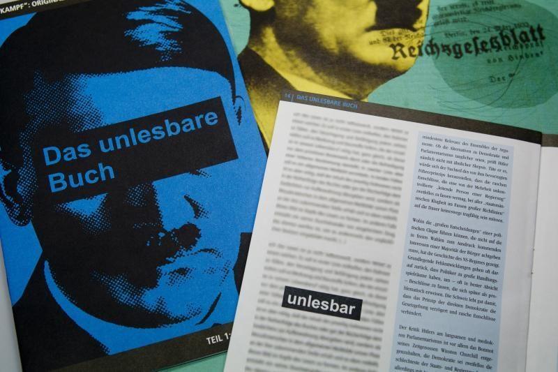 Žydai sveikina žinią apie Hitlerio knygos perleidimą Vokietijoje