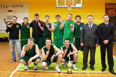 Romainių bendruomenės krepšininkai - Kauno čempionai