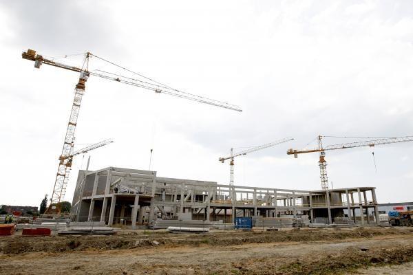 Klaipėdos meras arenos statybininkams davė pylos