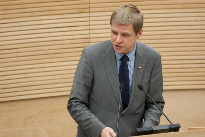 Abejojama dėl R.Šimašiaus kandidatūros į Seimo vicepirmininko pareigas