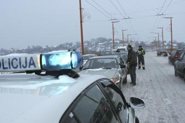 Policijos pareigūnai įpareigoti suteikti pagalbą šąlantiems gyventojams