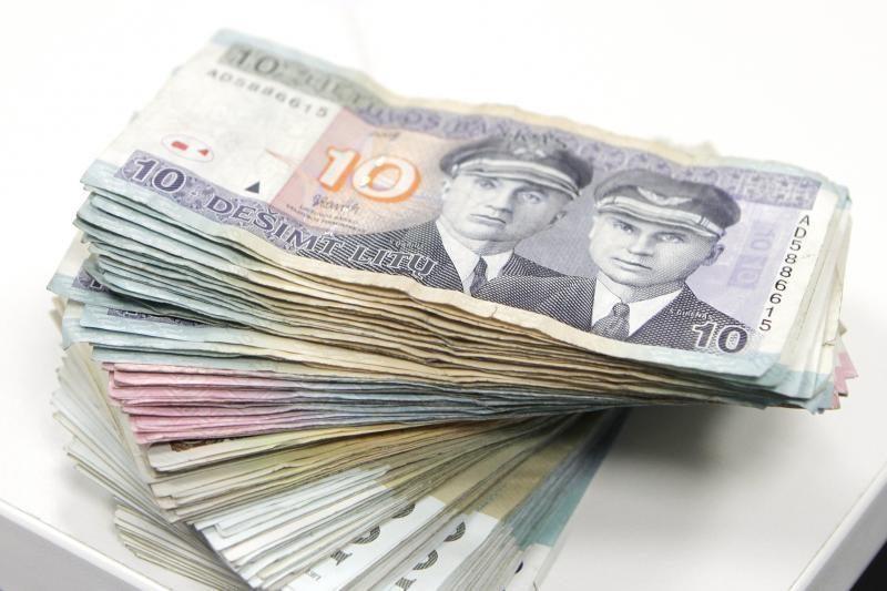 Paskolos sudaro didžiausią bankų finansinio turto dalį