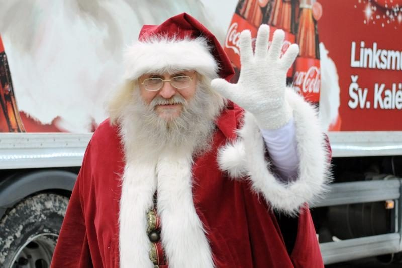 Kalėdų senelį į namus galima išsikviesti ir už šimtą litų
