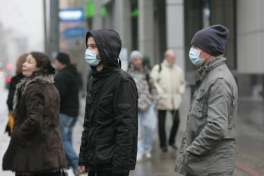 Gripu iki šiol susirgo daugiau nei 32 tūkst. gyventojų, šią savaitę - komplikacijų banga