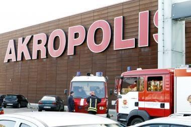 "Klaipėdos ""Akropolyje"" – nedidelis incidentas"