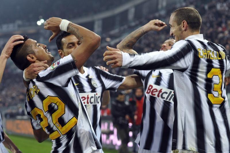 """""""Juventus"""" Italijoje susigrąžino lyderės poziciją"""