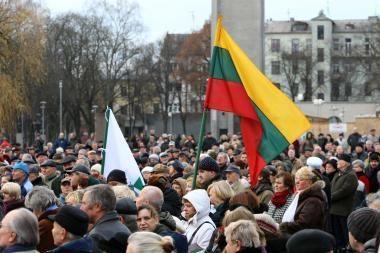 K.Čilinsko mitinge - tūkstantinė kauniečių minia (papildyta)