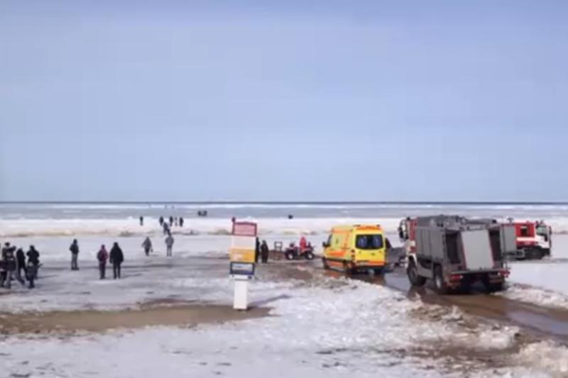 Rygos įlankoje 200 žmonių gelbėjimo operacija baigta