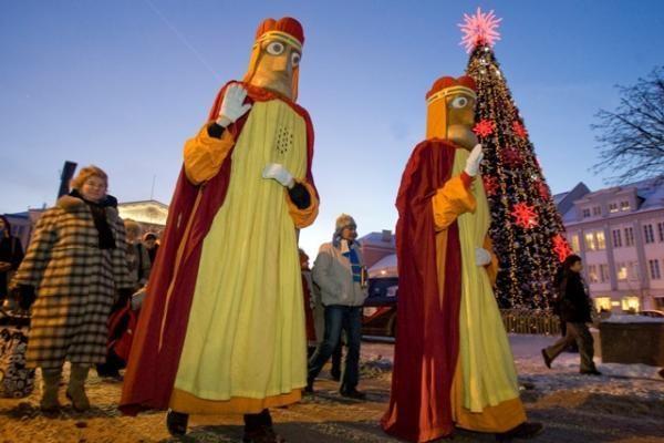 Kartu su Trimis Karaliais – tradicinės kalėdinių švenčių pabaigtuvės