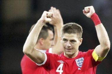 S.Gerrardas: būtų idealu laimėti be pratęsimo