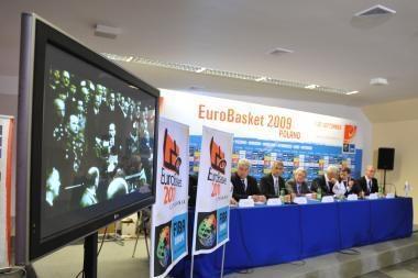 Lietuva pristatė būsimąjį Europos čempionatą